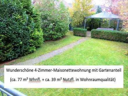Wehrheim 4-Zimmer- Maisonettewohnung mit Gartenanteil