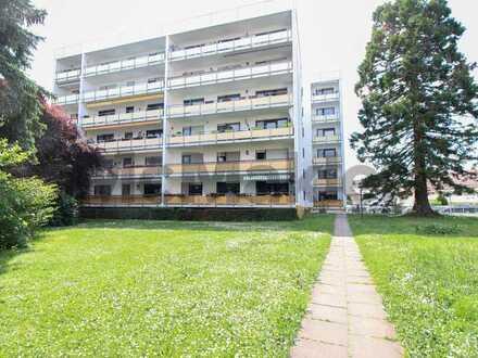 Angenehmes Wohnen zwischen Historie und Natur - Gepflegte 2-Zi.-ETW mit 2 Balkonen