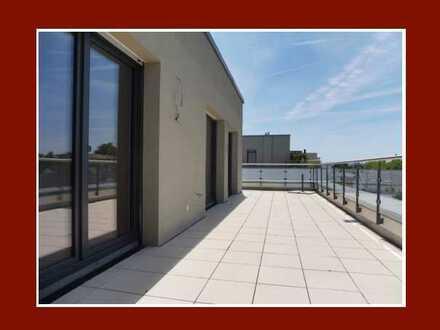 Modernes Penthouse mit über 30 m² Sonnen-Dachterrasse mit Fernblick und hochwertiger Ausstattung