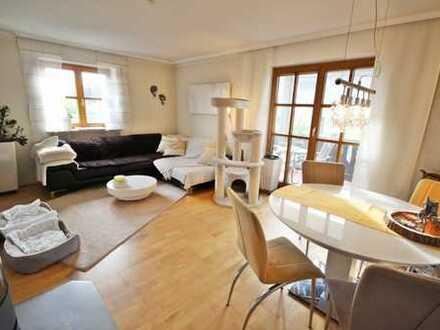 Attraktiv geschnittene 3-Zimmer-Wohnung mit Terrasse und Garten in Mintraching! Frei ab Q1/2021!