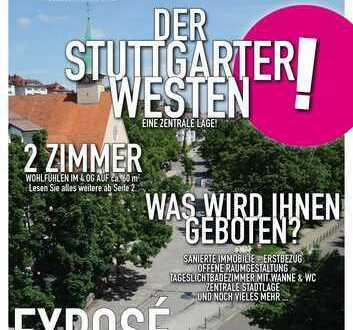 Frisch SANIERTE 2 Zimmer Wohnung im Stuttgarter Westen