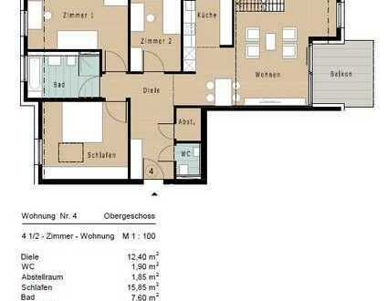 Luxuriöse 4,5 Maisonettewohnung OG/DG (Whg. 4)
