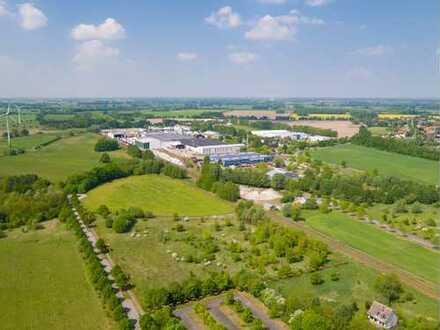 Bis zu 4,7 ha Industriefläche - individueller Zuschnitt und eigener Bahngleisanschluss möglich