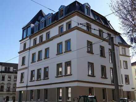 m² - 3Raum im 2. OG mit Balkon, Einbauküche und Fußbodenheizung - Erstbezug nach der Sanierung -