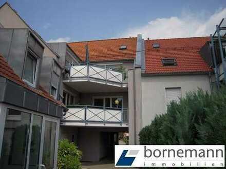 Eibach, ruhige Lage! Sonnige 3,5-Zimmer-Maisonette-Wohnung mit Dachterrasse + Garage