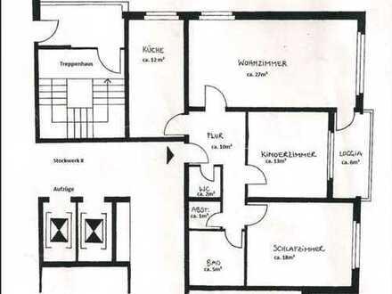 ***provisionsfrei*** 3-Zimmer, Küche, Bad, Gäste-WC, Balkon