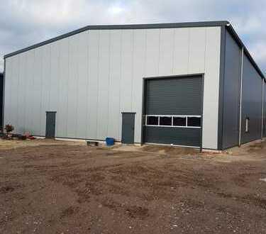 Sonsbeck , NEUE Industriehalle/inc.Heiz 720 qm incl. Sozialräume +Industrie-Boden mit Kranbahn