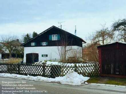 Im privaten Bieterverfahren: Grundstück mit Altbestand in gefragter Lage von Eching a. Ammersee