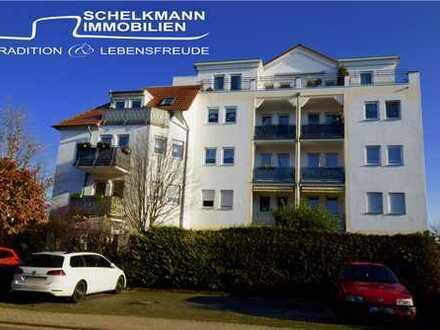 Sonnenverwöhnte Zweiraumwohnung mit 2 Balkonen und PKW- SP
