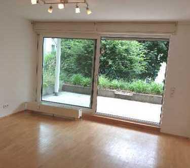 *** Ideal für Terrassen-Liebhaber: Herrliche 2-Zi.-Wohnung mit TG in Langen-Oberer Steinberg ***