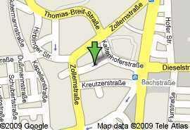 Zentrumsnah! saniert! 2 ZKB! ca.50 m²! 445,-€ kalt!