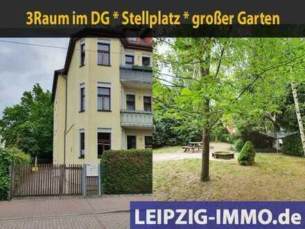 Seltene Gelegenheit: 3 ZKB in ruhiger Lage in Böhlitz-Ehrenberg * Laminat * Tageslichtbad mit Wanne.