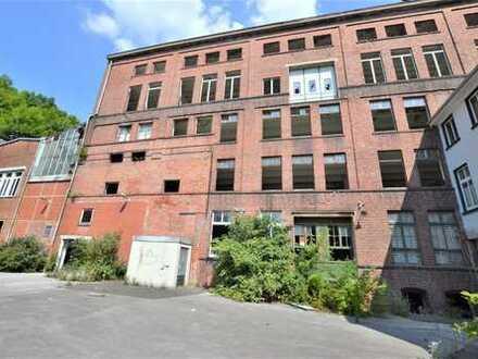 IMWRC – Wir haben DEN Platz für IHRE Ideen! Ehemalige Fabrik mit ca. 10.000 m² Gestaltungsspielraum!
