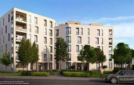 3-Zimmer-Wohnung mit modernem Wohnkomfort und Loggia in sympathischer, gewachsener Umgebung