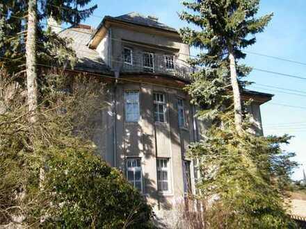 Imposante Villa in Rittersgrün