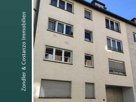 **FRANKFURT: Schöne, helle 2-Zi.-Wohnung + EBK + Bad mit Dusche in guter Wohnlage**