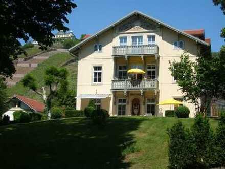 Traumlage von Radebeul-Oberlößnitz! Sanierte 2-Zimmerwohnung mit Balkon und Ausblick