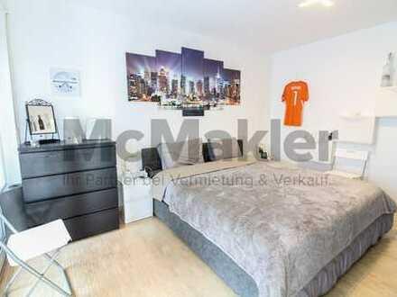 Kapitalanlage in München-Moosach: Vermietete 4-Zi.-ETW mit Balkon und Loggia