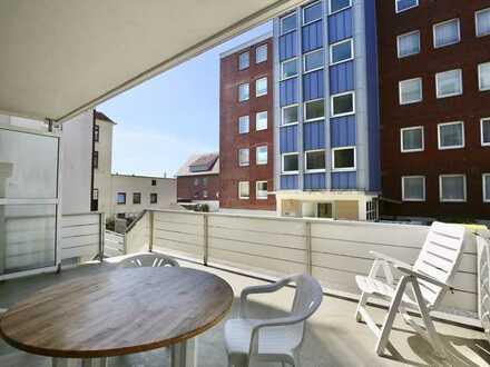 Haus Nautica - großer Balkon/Terrasse!