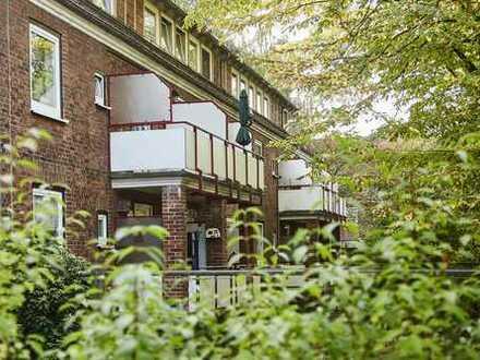 *Frisch modernisierte Wohnung in gepflegtem Mehrparteienhaus*