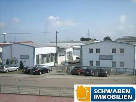 Produktionshallen mit Büro- und Sozialtrakt in guter Lage von Niederstotzingen zu verkaufen!