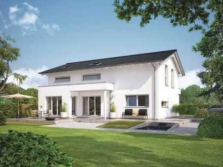 Einfamilienhaus KfW 40 + für kleine Familien, kompakt und durchdacht - von WeberHaus