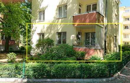 Praktische Erdgeschosswohnung nahe Preußenpark