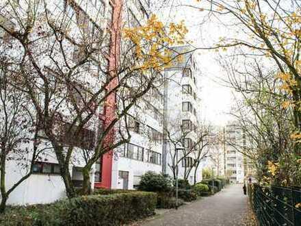 Helle sanierte 2-Zimmerwohnung mit EBK und Loggia in Dietzenbach
