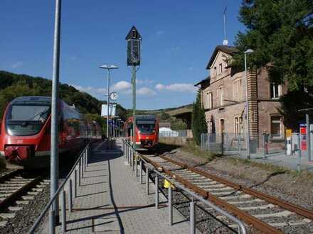 Im Bahnhof von Olsbrücken, findet die handwerklich geschickte Grossfamilie ihr neues Zuhause!