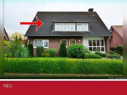 Individuelle Dachgeschosswohnung - nur zwei Wohnparteien in Top-Lage von Borken-Weseke