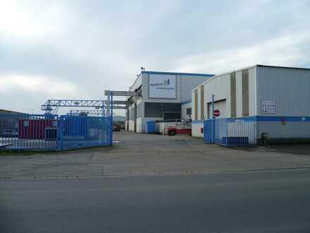 Bekrante Produktionshalle - Provisionsfrei vom Eigentümer