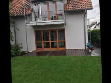 Neues renoviertes Reihenendhaus mit Südseite in Heddesheim