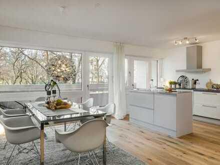 Stilvoll modernisierte Wohnung in ruhiger und sonniger Lage