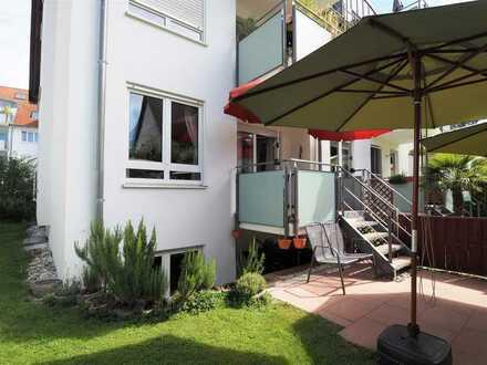 Familienfreundliche, schicke 4,5-Zimmer-Wohnung in zentraler, sehr beliebter Kirchheimer Wohnlage