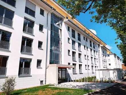 Neubau - Erstbezug: schöne, helle 2-Zimmer-Wohnung mit Terrasse in innenstadtnaher Lage