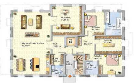 Die Lärchenhöfe Wohnung Erdgeschoß Nr. 1.1 und 1.2