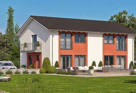 *Wir bauen für Sie: Doppelhaushälfte inkl.ca. 299m² Grund auf Bodenplatte & toller Markeneinbauküche