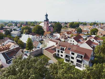 Blick über Bretzenheim - 4-Zi.-Dachgeschosswohnung im historischen Herzen von Mainz-Bretzenheim