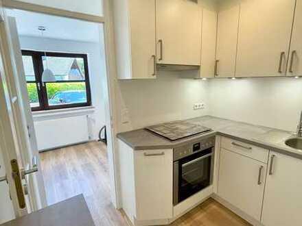 Erstbezug nach Sanierung mit Einbauküch und Terrasse : schöne 2,5-Zimmer-EG-Wohnung in Westhausen