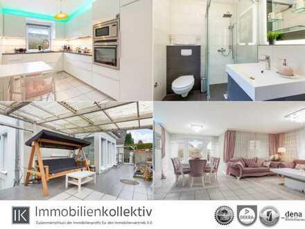 Wie eine Doppelhaushälfte: Junge Maisonettewohnung mit Gartenterrasse, Vollkeller & Stellplatz !!!
