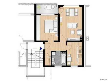Frisch renovierte 2-Zimmer Wohnung mit Balkon im grünen Zinkhüttenpark in Duisburg Hamborn