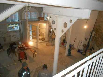 Wohnen und Arbeiten Atelier - großer Raum