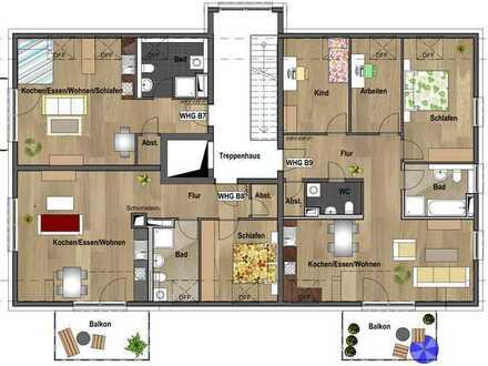 1.Dachgeschoss - Wohnung B09