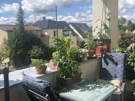 Neuwertige 2-Raum-Wohnung mit Balkon und Einbauküche in Werder