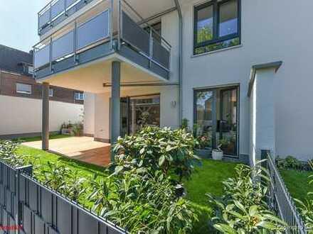 Haus-im-Haus... Gartenoase mit eigener Toreinfahrt!