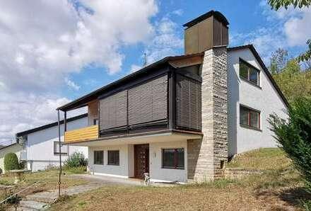 Besonderes Einfamilienhaus in TOP-Aussichtslage und großem Grundstück