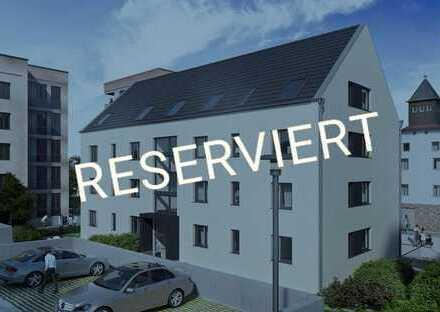 RESERVIERT! Klassisch schön und naturnah - DG-Wohnung auf ca. 86 m² am Schwarzbach in Hattersheim