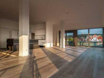 Exklusives Penthouse mit atemberaubendem Blick und repräsentativer Adresse
