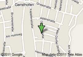Gersthofen! frisch saniert! 1 ZWKB! 38,06 m²! 370,-€ kalt!