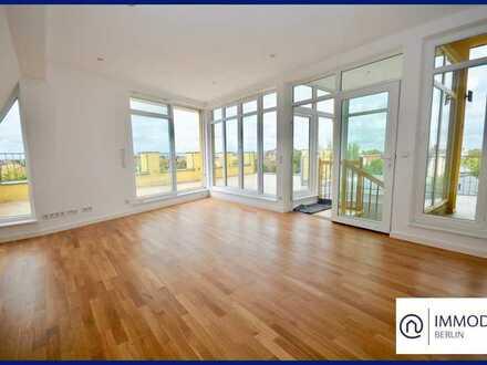 80qm Dachterrasse - 4-Zimmer Traum mit offener Küche und viel Platz!